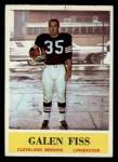 1964 Philadelphia #33  Galen Fiss  Front Thumbnail