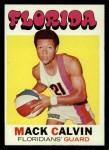 1971 Topps #160  Mack Calvin  Front Thumbnail