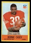 1967 Philadelphia #173  Bernie Casey  Front Thumbnail