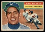 1956 Topps #113  Phil Rizzuto  Front Thumbnail