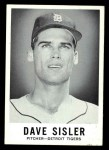 1960 Leaf #64  Dave Sisler  Front Thumbnail
