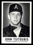 1960 Leaf #63  John Tsitouris  Front Thumbnail