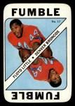 1971 Topps Game #17  Floyd Little  Front Thumbnail