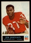 1965 Philadelphia #176  Jim Johnson  Front Thumbnail