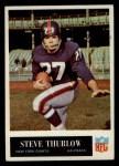 1965 Philadelphia #123  Steve Thurlow   Front Thumbnail