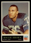 1965 Philadelphia #59  Roger Brown  Front Thumbnail