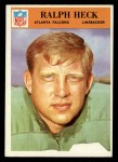 1966 Philadelphia #7  Ralph Heck  Front Thumbnail