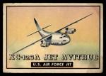 1952 Topps Wings #127   XC-123A Jet Avitruc Front Thumbnail