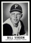 1960 Leaf #40  Bill Virdon  Front Thumbnail