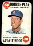 1968 Topps Game #12   Claude Osteen   Front Thumbnail