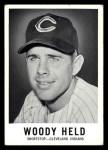 1960 Leaf #2  Woodie Held  Front Thumbnail