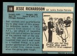 1964 Topps #18  Jesse Richardson  Back Thumbnail