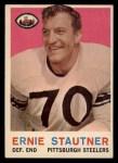 1959 Topps #69  Ernie Stautner  Front Thumbnail