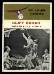 1961 Fleer #53   -  Cliff Hagan In Action Front Thumbnail