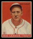 1933 Goudey #150  Ray Kolp  Front Thumbnail