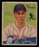 1934 Goudey #75  Bill Werber  Front Thumbnail