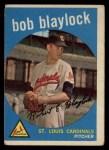 1959 Topps #211  Bob Blaylock  Front Thumbnail