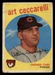 1959 Topps #226  Art Ceccarelli  Front Thumbnail