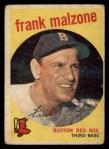 1959 Topps #220  Frank Malzone  Front Thumbnail