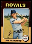 1975 Topps #144  Jim Wohlford  Front Thumbnail