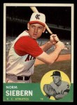 1963 Topps #430  Norm Siebern  Front Thumbnail