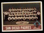 1976 Topps #331   -  John McNamara Padres Team Checklist Front Thumbnail