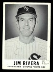 1960 Leaf #55  Jim Rivera  Front Thumbnail