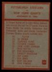 1965 Philadelphia #154   -  Buddy Parker Pittsburgh Steelers Back Thumbnail