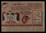 1958 Topps #32 ^WN^ J.W. Porter  Back Thumbnail