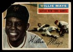 1956 Topps #130  Willie Mays  Front Thumbnail