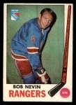 1969 O-Pee-Chee #40  Bob Nevin  Front Thumbnail
