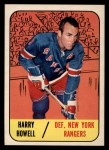 1967 Topps #84  Harry Howell  Front Thumbnail