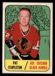 1967 Topps #61  Pat Stapleton  Front Thumbnail