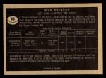 1967 Topps #46  Dean Prentice  Back Thumbnail