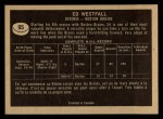 1967 Topps #95  Ed Westfall  Back Thumbnail