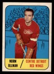 1967 Topps #101  Norm Ullman  Front Thumbnail