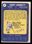 1969 Topps #85  Gary Jarrett  Back Thumbnail