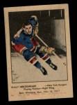 1951 Parkhurst #100  Wally Hergesheimer  Front Thumbnail