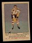 1951 Parkhurst #22  Ed Sandford  Front Thumbnail