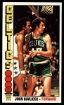 1976 Topps #90  John Havlicek  Front Thumbnail