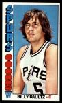 1976 Topps #19  Billy Paultz  Front Thumbnail