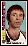 1976 Topps #42  Dave Twardzik  Front Thumbnail