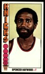 1976 Topps #28  Spencer Haywood  Front Thumbnail