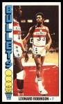 1976 Topps #104  Leonard Robinson  Front Thumbnail