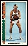 1976 Topps #26  Dick Van Arsdale  Front Thumbnail