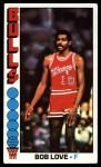 1976 Topps #45  Bob Love  Front Thumbnail