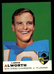 1969 Topps #69  Lance Alworth  Front Thumbnail