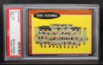 1962 Topps #584   Twins Team Front Thumbnail
