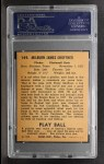 1940 Play Ball #149  Milt Shoffner  Back Thumbnail