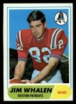1968 Topps #20  Jim Whalen  Front Thumbnail
